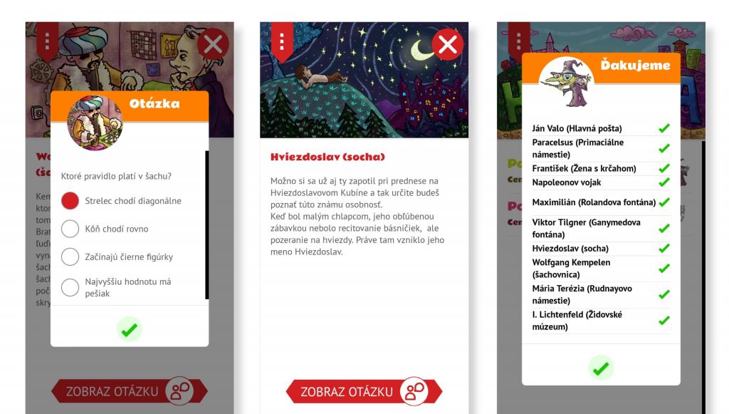 Náhľad grafiky pre mobilnú Android a iOS aplikáciu