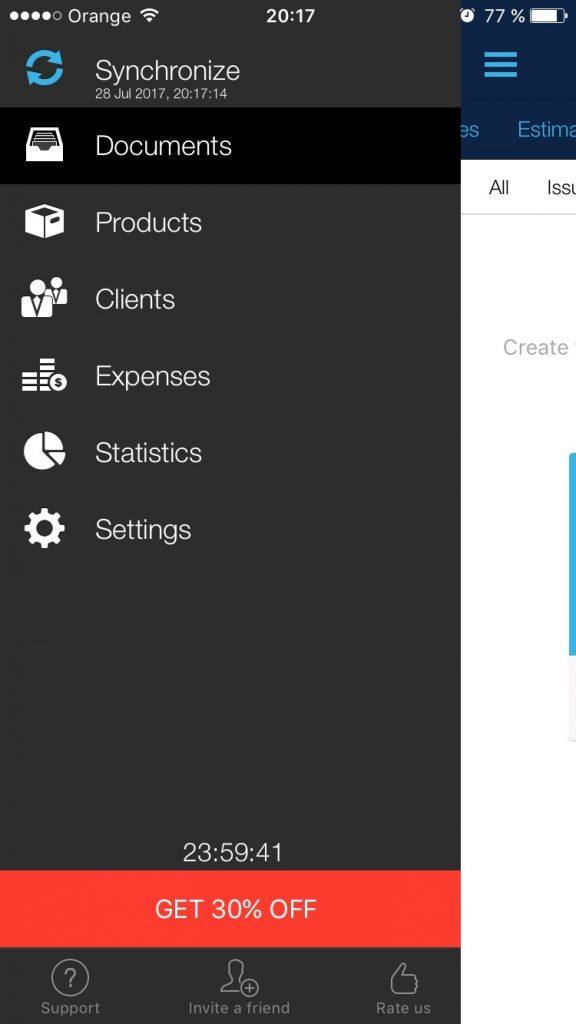 Mobilná aplikácia pre Android na fakturovanie