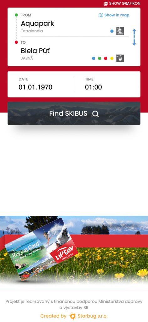 Vytvorenie projektu SmartCity pre lyžiarské strediská na Liptove