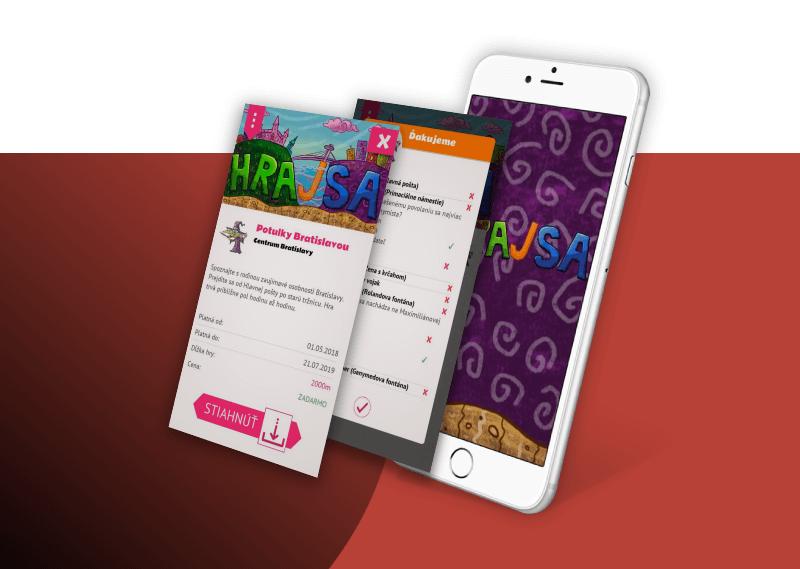 Vytvorenie mobilnej geolokačnej aplikácie pre Android a iOS zaraidenia.