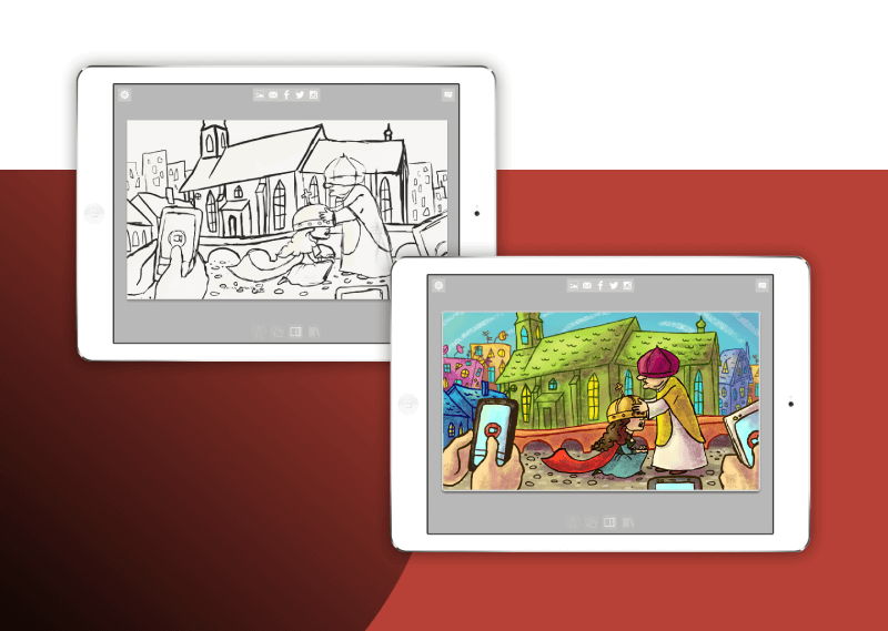 Ručne kreslená grafika pre Android a iOS mobilnú hru