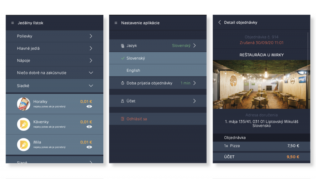 Náhľad grafiky pre mobilnú Android aplikáciu